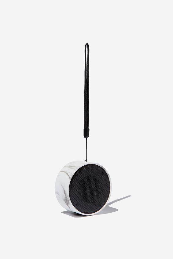 Wanderer Wireless Speaker, MARBLE