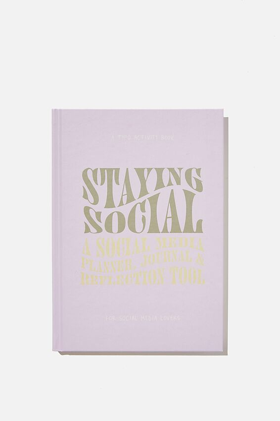 A5 Fashion Activity Journal, STAYING SOCIAL VOL.2