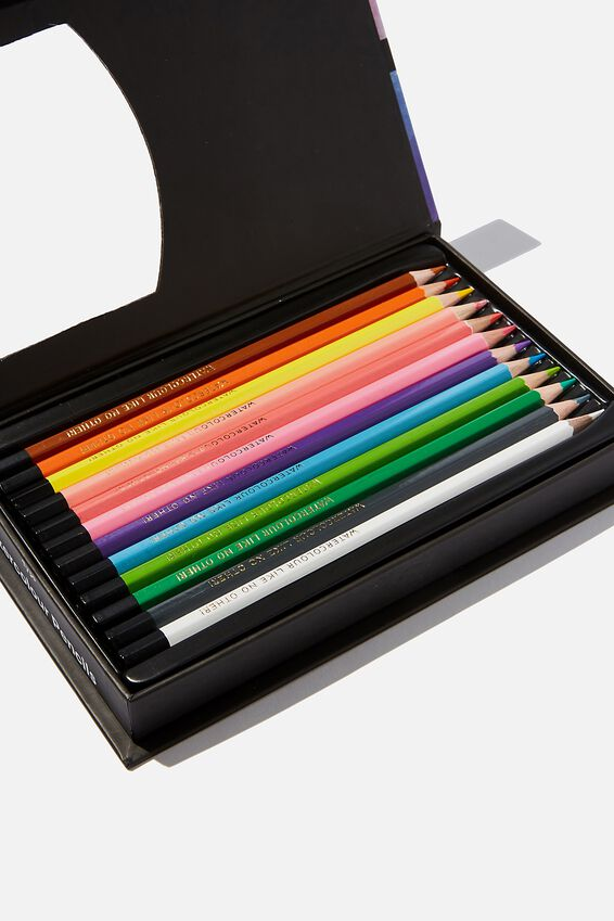 Watercolour Pencils 12 Pack, PASTELLO