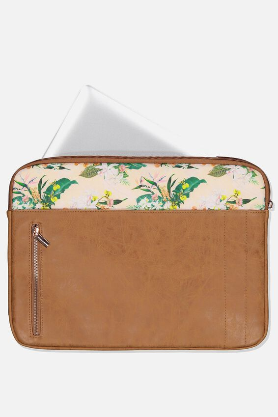 Take Charge 15 Inch Laptop Cover, BIRDS OF PARADISE