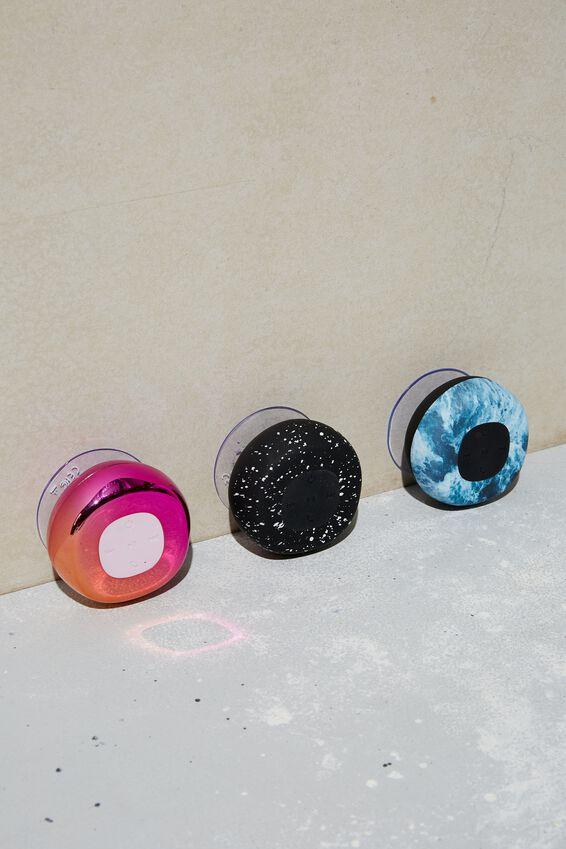 Wireless Shower Speaker, PINK ELECTROPLATE OMBRE 2.0