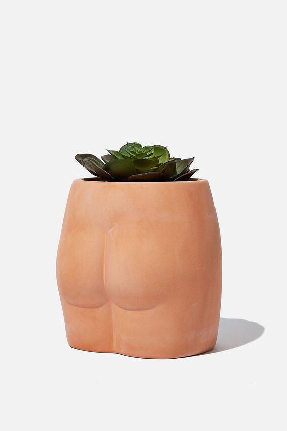 Small Shaped Planter, BUTT