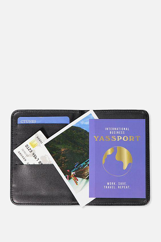 Passport Holder, LUSH MARBLE
