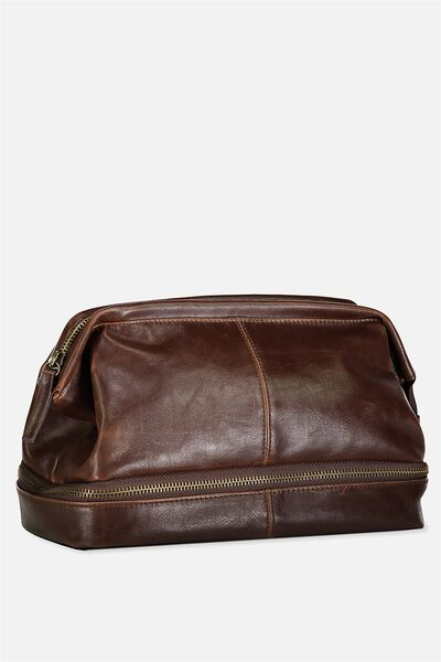 Debonair Wash Bag Rich Tan