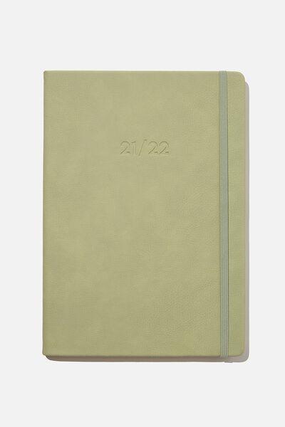 2021 22 A4 Weekly Buffalo Diary, GUM LEAF