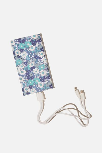 Ultimate Charge It Charger, DITSY CORNFLOWER