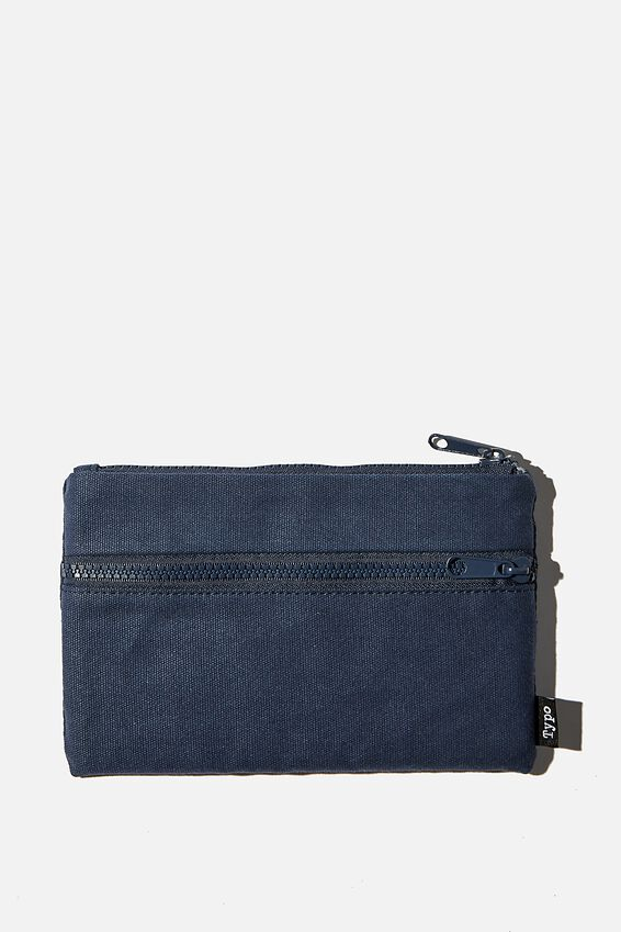 Archer Pencil Case, NAVY