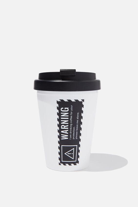 Take Me Away Mug, WARNING