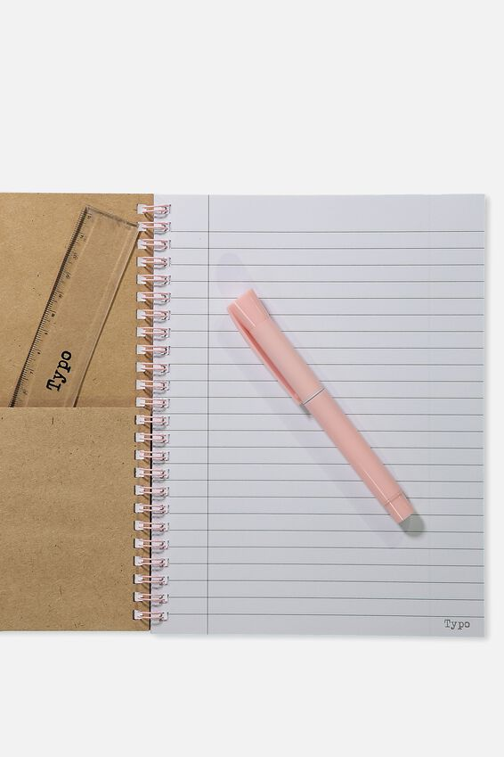 A5 Spinout Notebook - 120 Pages, WILL WORK PATCHES