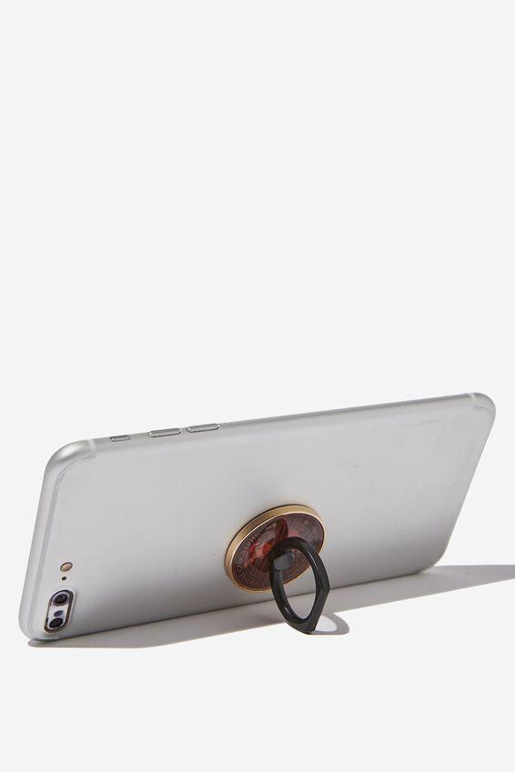 Licenced Metal Phone Ring, LCN NG GLOBE