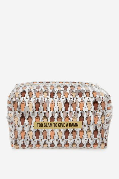 Made Up Cosmetic Bag, UP YOURS REPEAT!