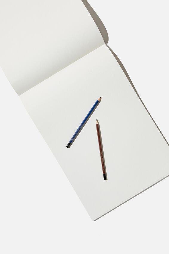 A3 Watercolour Sketch Book, ARTISTIC EXPERIMENTS WATERCOLOUR