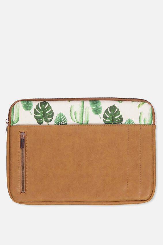 Take Charge Laptop Cover 13 inch, PLANTS
