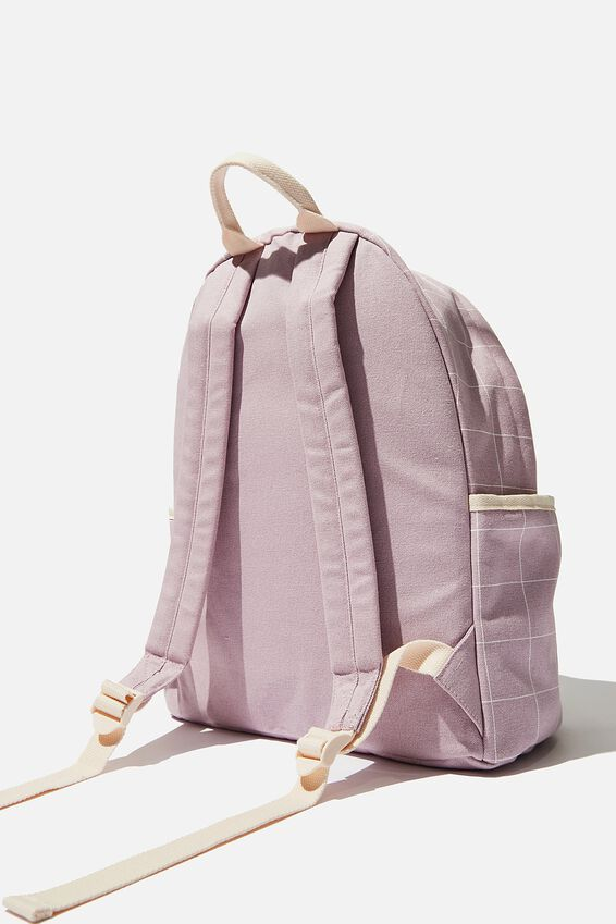 Fundamental Backpack, HEATHER GRID