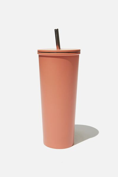 Metal Smoothie Cup, PEACH