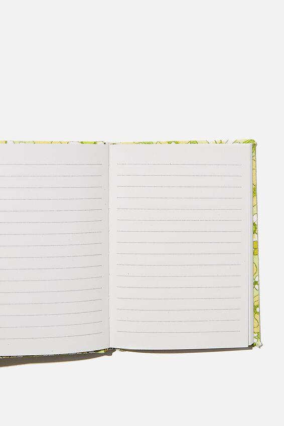 A6 Oxford Notebook, JONI FLORAL CITRINE