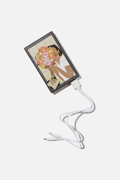 Portable Boredom Charger, FLOWERS