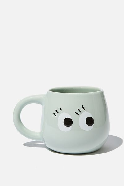 Subtle-Tea Mug, EYES