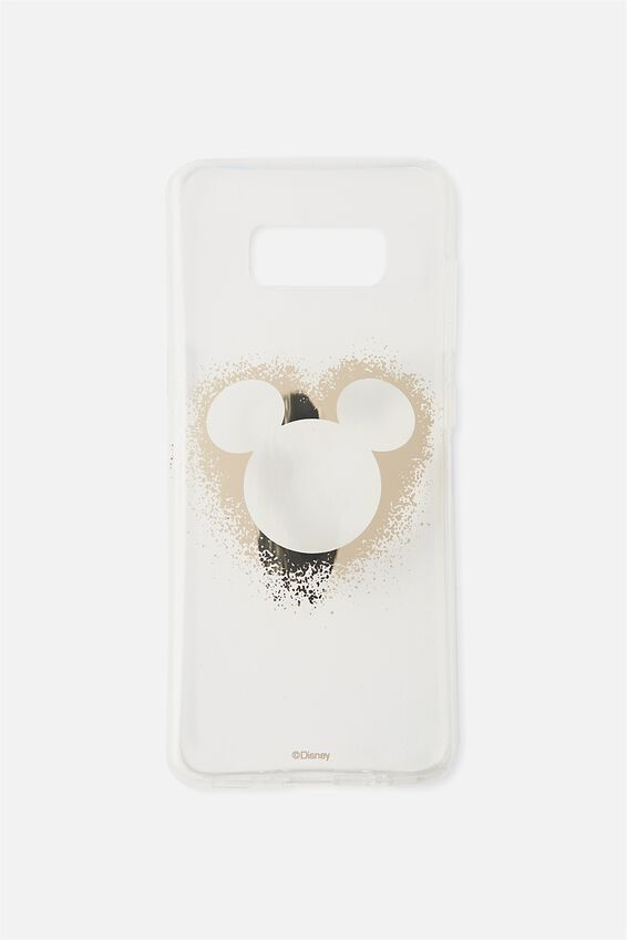 Phone Cover S8, LCN MICKEY HEAD