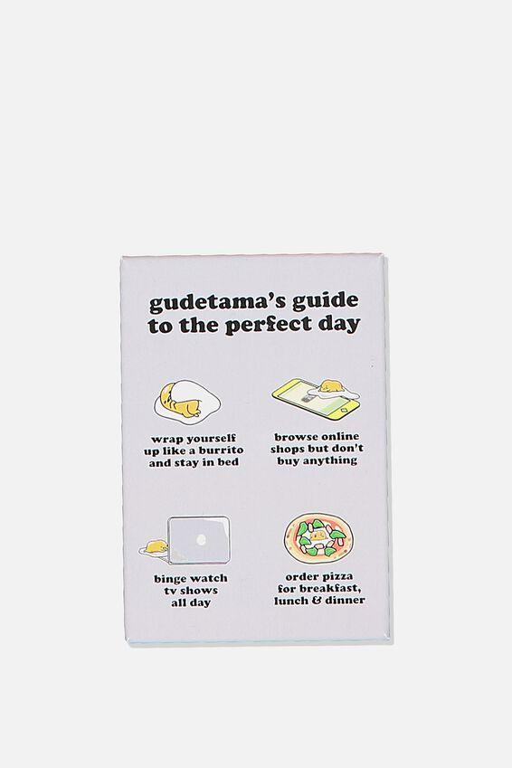 Gudetama Quirky Magnet, LCN SAN GU PERFECT DAY