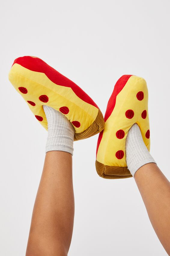 Slippers, PIZZA SLICES
