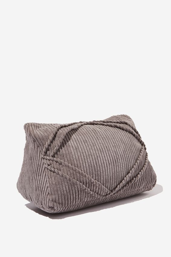 Tablet Cushion, GREY CORD