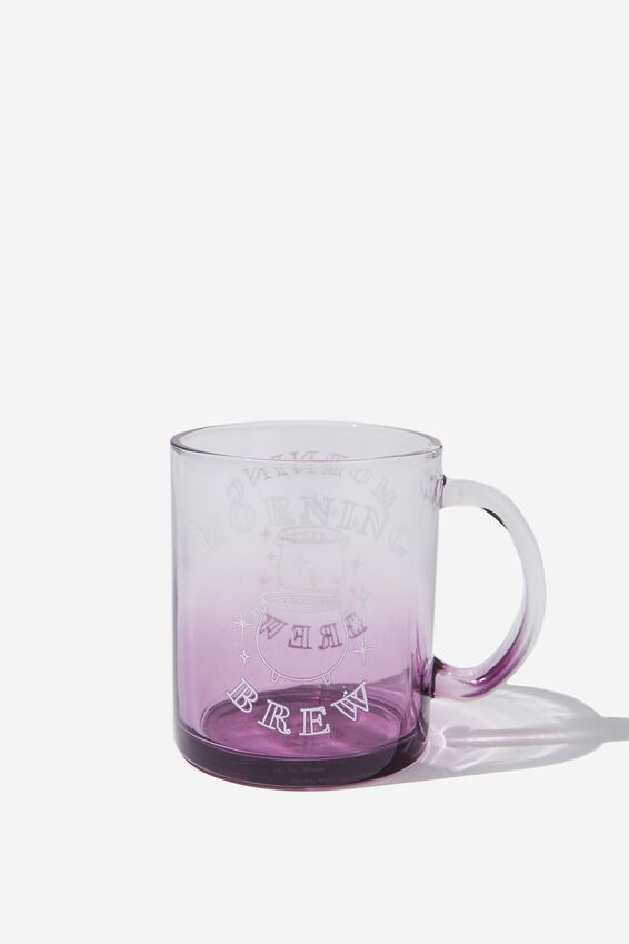 16Oz Glass Mug, MORNING BREW
