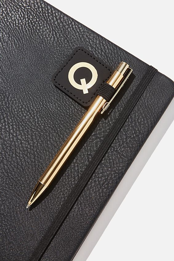Pen Loop Sticker, BLACK Q