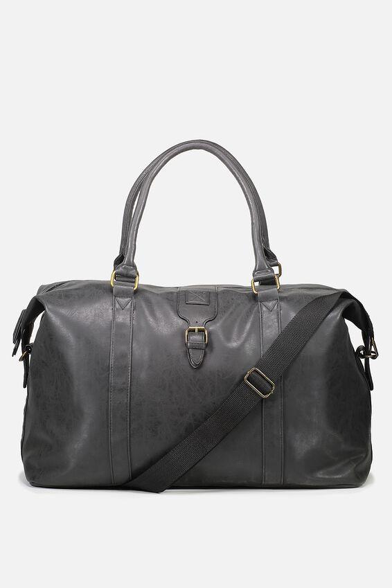 Buffalo Overnighter Duffle Bag, BLACK