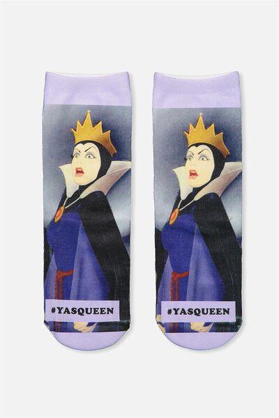 Womens Novelty Socks, LCN YAS QUEEN