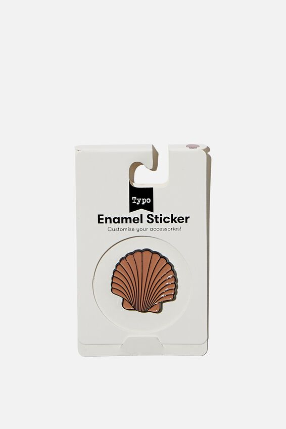 Enamel Stickers, SHELL