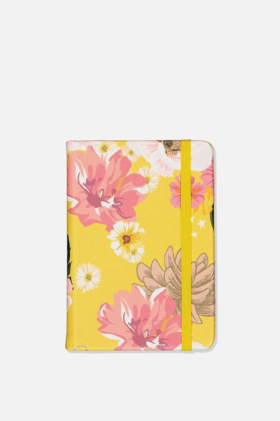 A6 Buffalo Journal, YELLOW FLORAL
