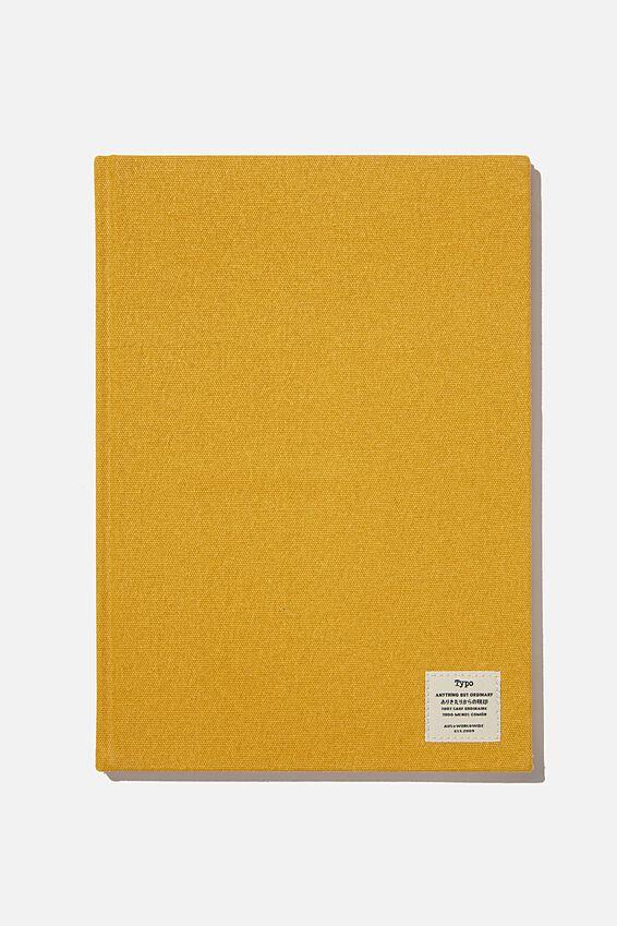 A4 Sketch Notebook, MUSTARD