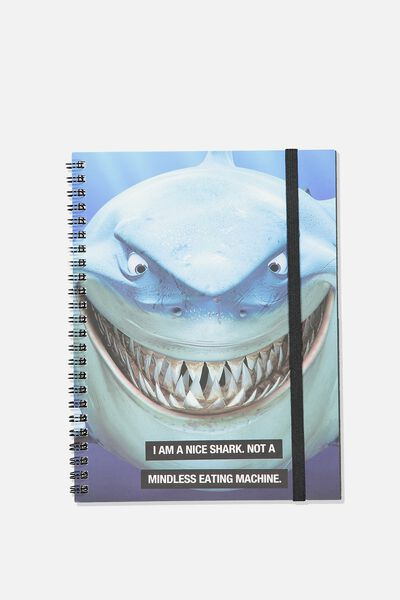 A5 Spinout Notebook - 120 Pages, LCN DIS BRUCE