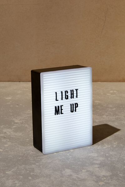 Micro Light Box, PEGBOARD RECTANGLE