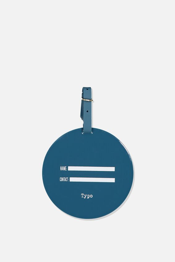 Silicone Luggage Tag, CAN'T TOUCH THIS