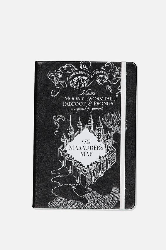 A5 Harry Potter Buffalo Journal, LCN HARRY POTTER RED MARAUDERS MAP