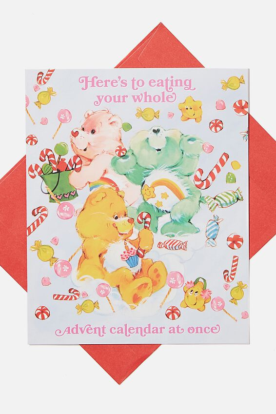 Care Bears Christmas Card 2020, LCN CLC CARE BEARS ADVENT CALENDAR