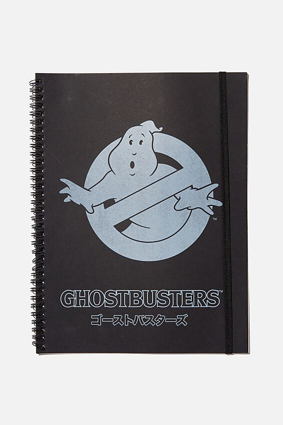 A4 Ghost Busters Spinout Notebook Recycled, LCN SON GHOSTBUSTERS