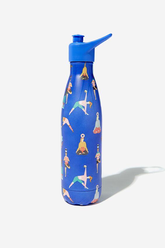 Sip Top Metal Drink Bottle, YOGA GIRLS