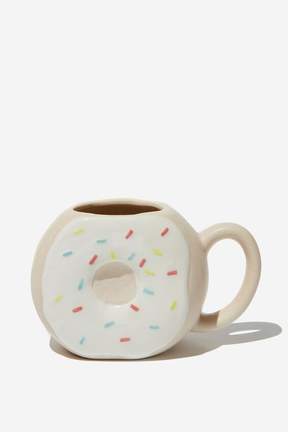 Novelty Shaped Mug, DIPPED DONUT