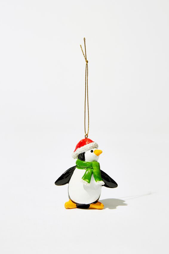 Christmas Ornament, SCARF PENGUIN