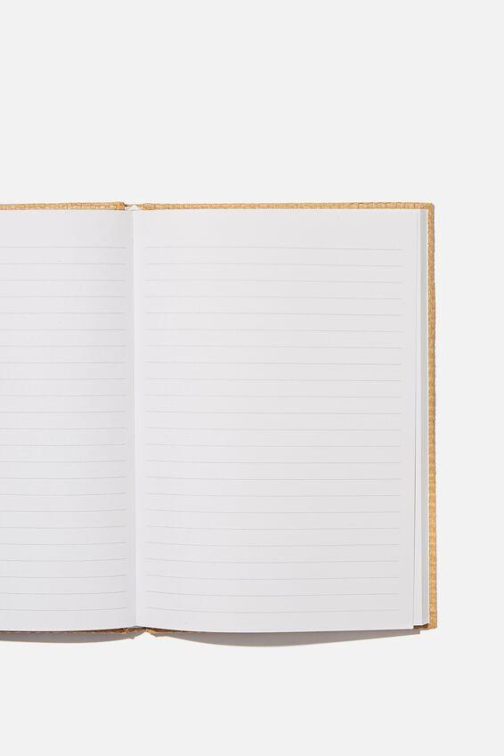 A5 Oxford Notebook, DRIFTWOOD RATTAN