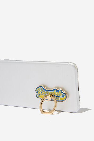 Licenced Metal Phone Ring, LCN WB RIVERDALE