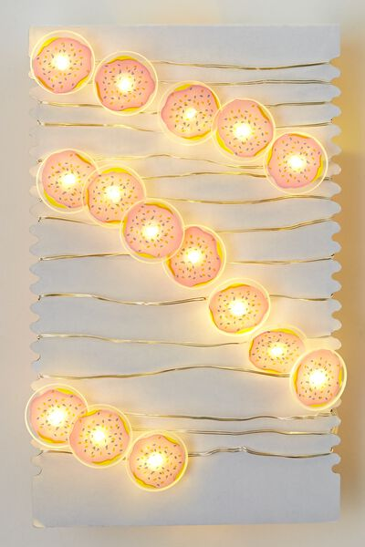 3M Novelty Twinkle Lights, DONUTS