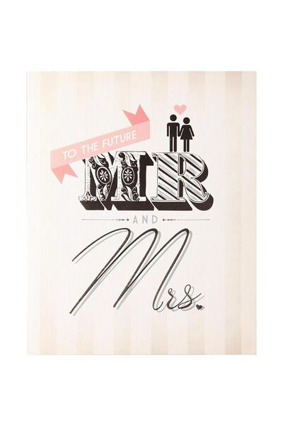 Engagement Card, WE-FUTURE MR AND MRS