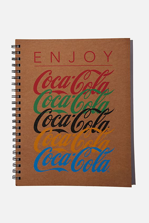 A4 Coca Cola Campus Notebook Recycled, LIFE LESSONS!!