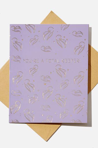 Love Card, LCN WB HP TOTAL KEEPER
