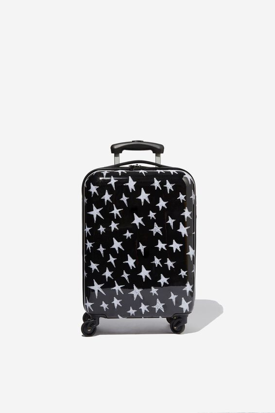 Tsa Small Suitcase, STAR PRINT