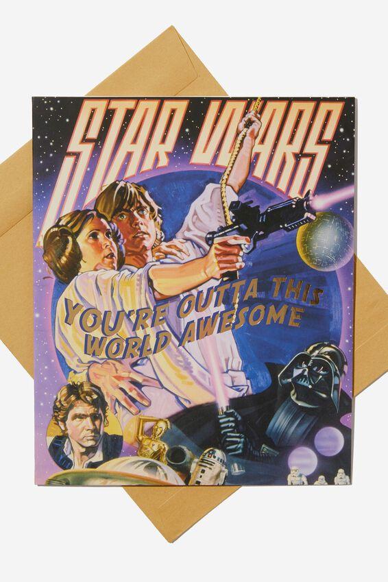 Star Wars Love Card, LCN LU OUTTA THIS WORLD